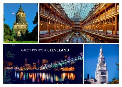 Photocollage Cleveland