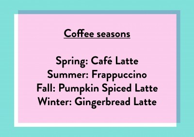 Coffee seasons