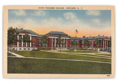 Cortland, New York, State Teachers College