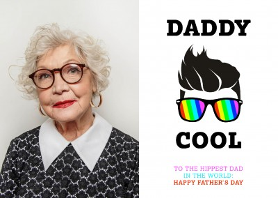 Daddycool happy father's day world's hippest dad