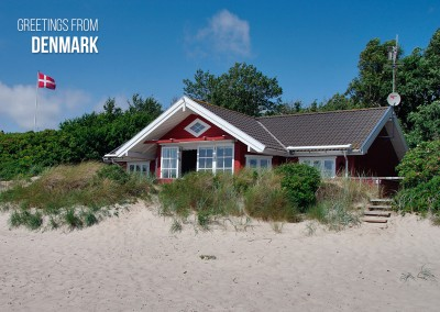 Salutations de Danemark Beachhouse