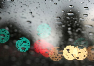 photo raindrops lights