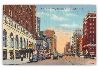 Dayon, ohio, Main Street and Business section