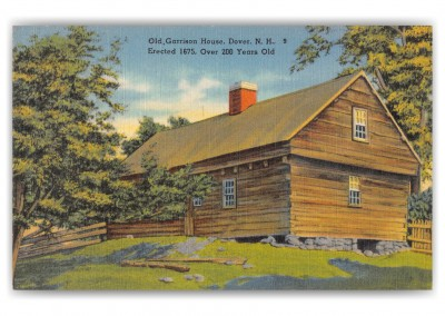 Dover, New Hampshire, Old, Garrison House