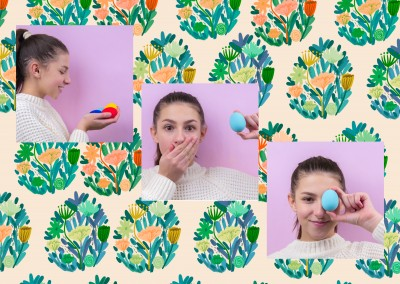Easter pattern - Anna Grimal