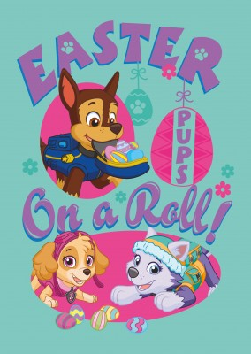 PAW Patrol Easter pups on a roll!