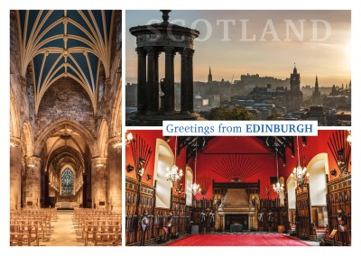 Foto collage de Edimburgo