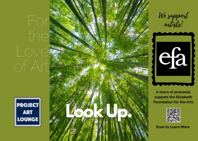 postcard Project Art Lounge: For the Love of Art We Support Artists Elizabeth Foundation for the Arts