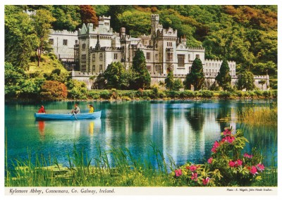 John Hinde photo d'Archive Abbaye de Kylemore, le Connemara