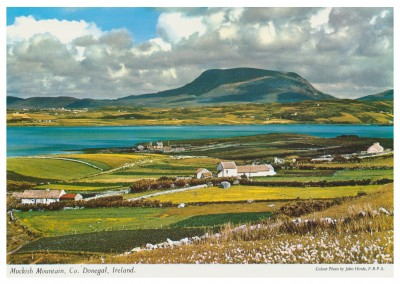 John Hinde photo d'Archive Muckish Montagne, Co. Donegal