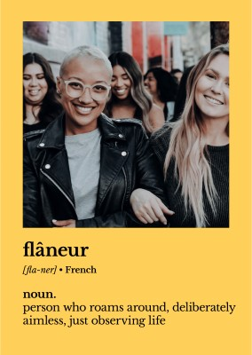 Flaneur definition