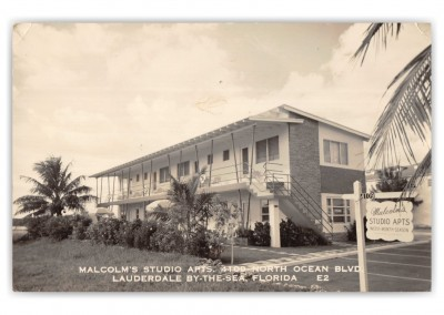 Fort Lauderdale, Florida, Malcom's Studio Apartments