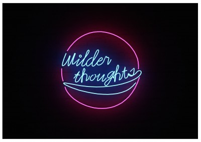 Foto Neonlicht wilder thoughts
