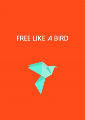 Free as a bird! Oiseau en Origami