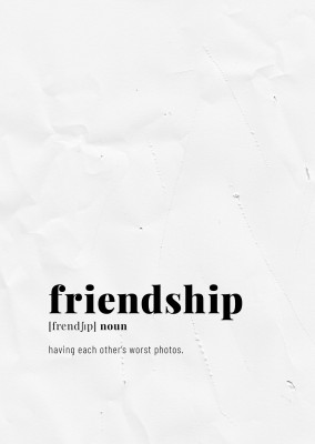 postcard friendship