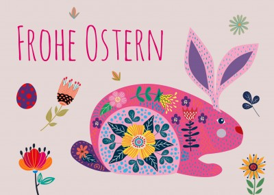 Meridian Design Design frohe Ostern