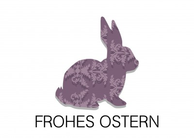 Over-Night-Design frohes Ostern