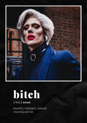 postcard bitch