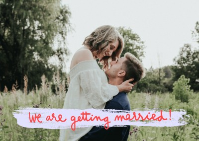 We are getting married!