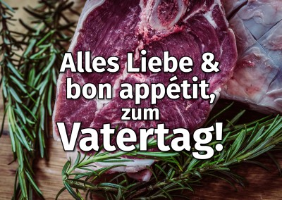 Zum Vatertag Steak