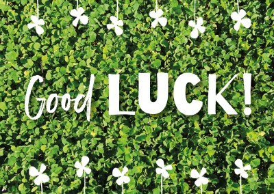 GREETING ARTS good luck