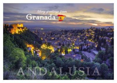 photo Granada night view