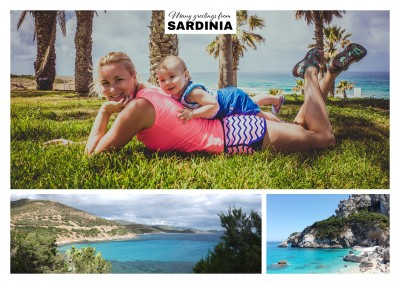the beach of Sardinia