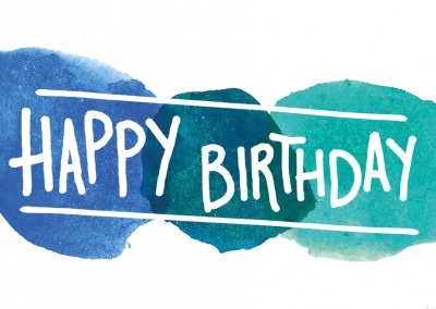 Create Your Own Happy Birthday Cards