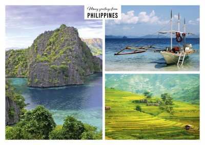 Coast landscapes of the Philippines in three photos