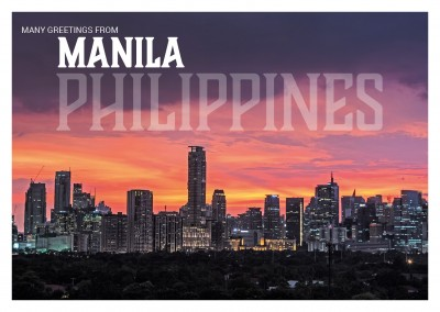 Photo of Manila's business district Makati
