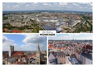 Munich's showplaces