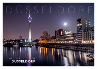 Photo skyline of dusseldorf