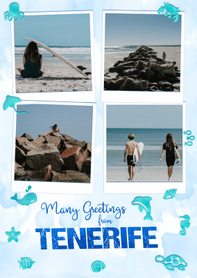 Many greetings from Tenerife