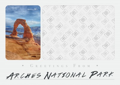 Greetings from Arches National Park
