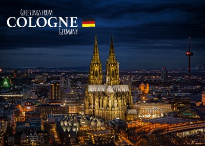 Photo skyline Cologne