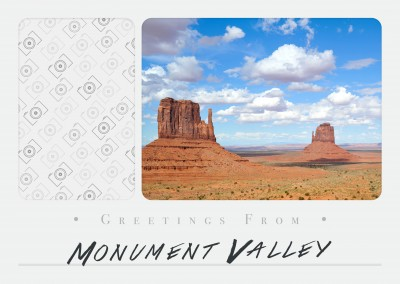 Greetings from Monument Valley