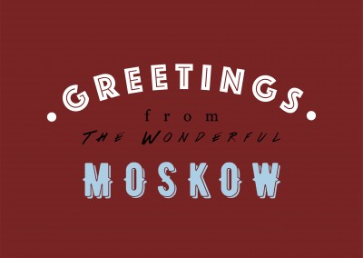 Greetings from the wonderful Moskow
