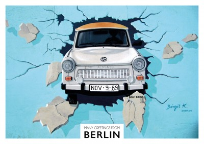 Berlin Trabbi Eastside Gallery