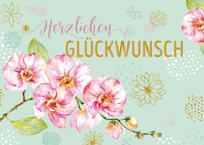 Illustration Kirschblüten