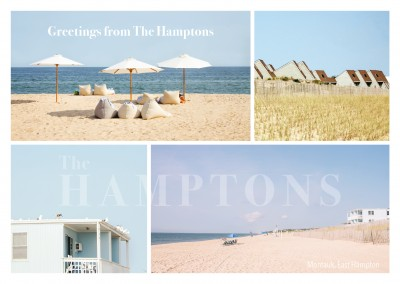 Montauk beach photocollage