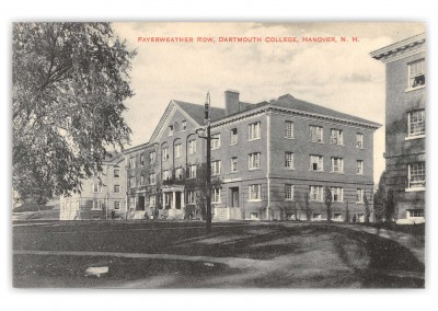 Hanover, New hampshire, Fayerweather Row, Dartmouth College