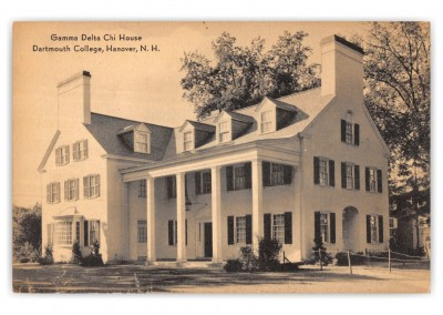Hanover, New hampshire, Gamma Delta Chi House, Dartmouth College