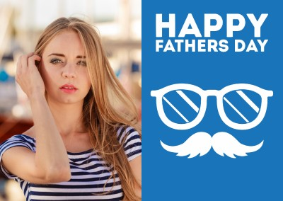 Happy Fathers Day Moustache