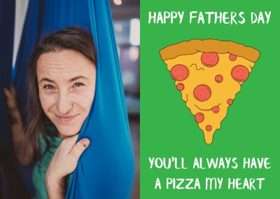 Happy Fathers Day Pizza