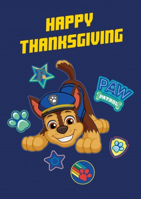 PAW Patrol Happy Thanksgiving