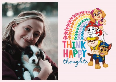 PAW Patrol Think happy thoughts