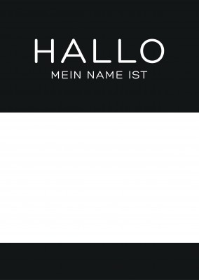 Hello, my name is...