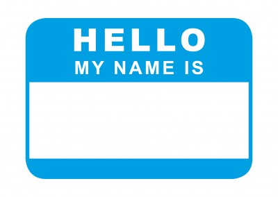 hello my name is blau