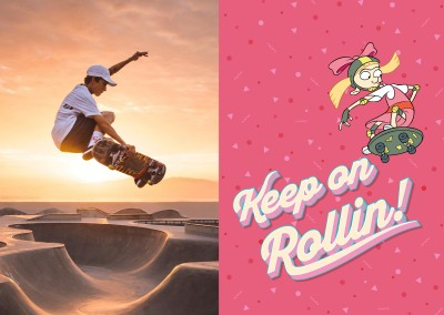 Hey Arnold! - Keep on Rollin!