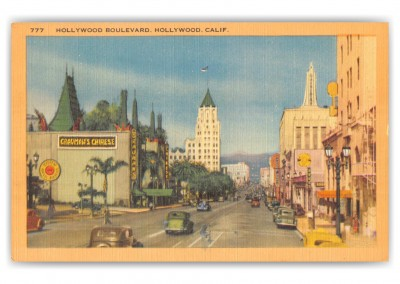Hollywood, California, Hollywood Boulevard